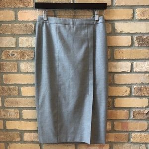 Banana Republic grey pencil skirt
